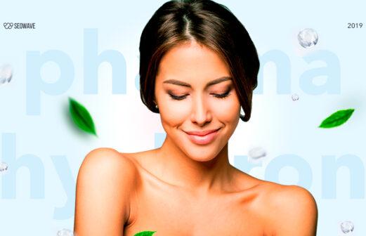 Оновлення сайту Pharma Hyaluron
